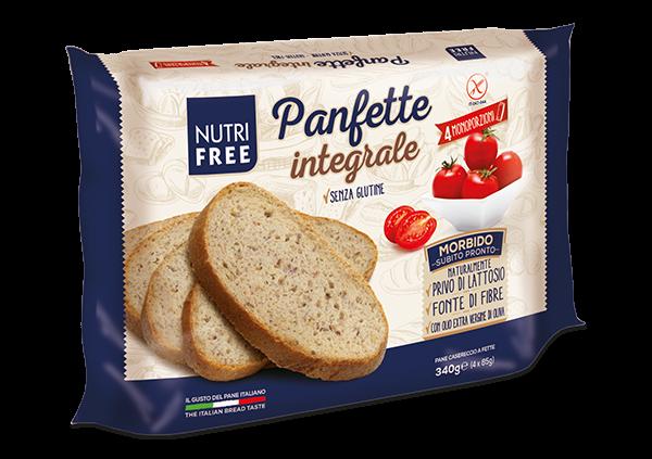 Paine integrala feliata fara gluten Panfette 340Gr 0