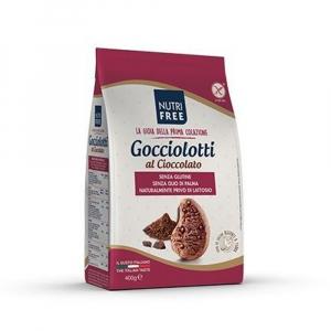 Biscuiti Gocciolotti fara gluten cu bucati de ciocolata 400Gr