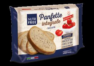 Paine integrala feliata fara gluten Panfette 340Gr
