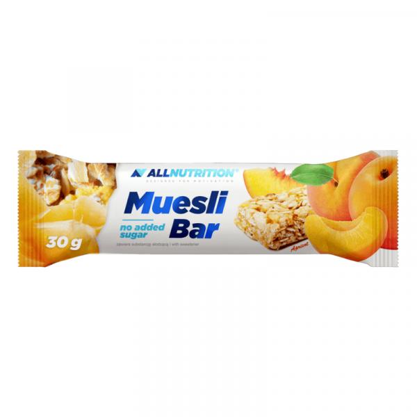 Baton din Fulgi de Ovaz cu Fructe Uscate (Caisa), AllNutrition Muesli Bar - 30 g [0]