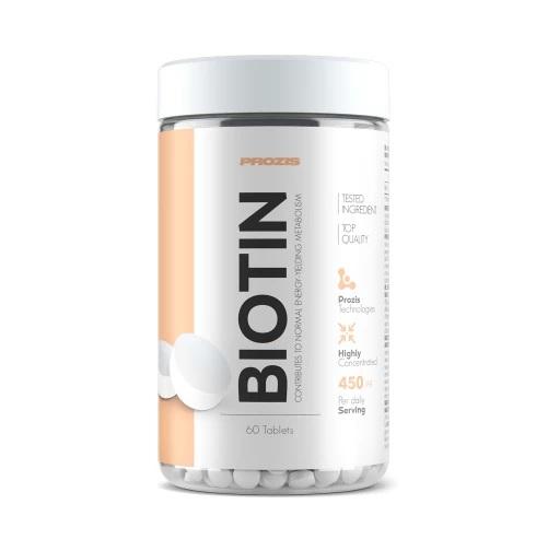 Biotina,Vitamina B7, Prozis Biotin 450 mcg, 60 tablete [0]
