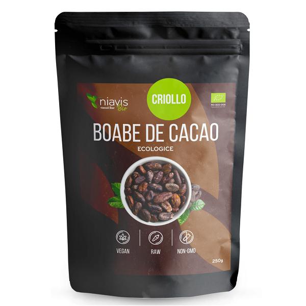 Boabe de cacao intregi Ecologice/Bio - 250 g [1]