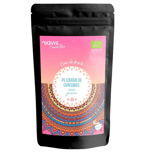 """Ceai Ecologic/BIO """"Pe Carari de Curcubeu"""" - 50 g [0]"""