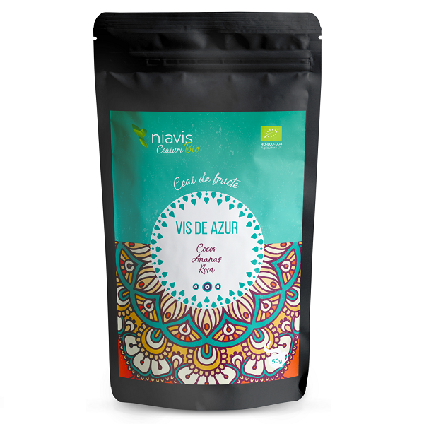 "Ceai Ecologic/BIO ""Vis de Azur"" - 50 g [0]"