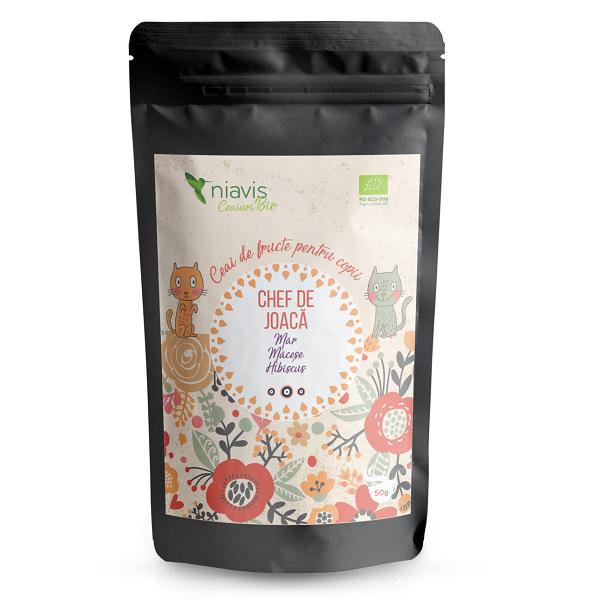 """Ceai pentru copii Ecologic/BIO """"Chef de Joaca"""" - 50 g [0]"""