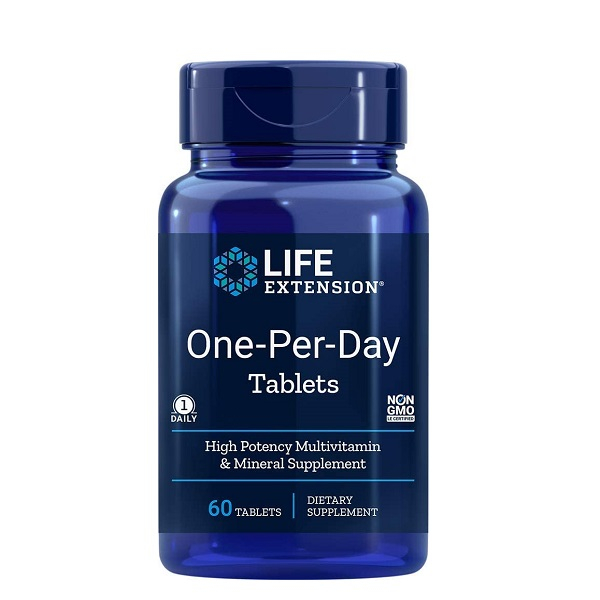 Complex de Multivitamine si Minerale, Life Extension One-Per-Day Tablets - 60 comprimate (60 doze) [0]