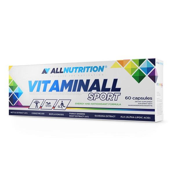 Complex de Vitamine si Minerale, AllNutrition VitaminAll Sport - 60 capsule (30 doze) [0]