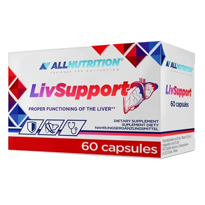Complex Hepatoprotector, Detoxifierea si Functia Ficatului, AllNutrition LivSupport - 60 capsule (30 doze) [0]