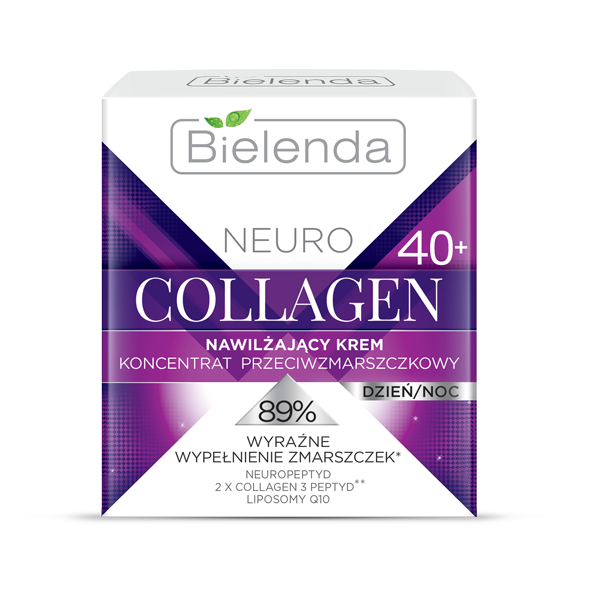 Crema Concentrata de fata Hidratanta Antirid 40+ zi/noapte, Neuro Collagen - 50 ml [0]