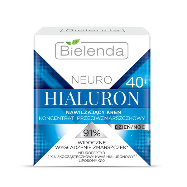 Crema Concentrata de fata Hidratanta Antirid 40+ zi/noapte, Neuro Hialuron - 50 ml [0]