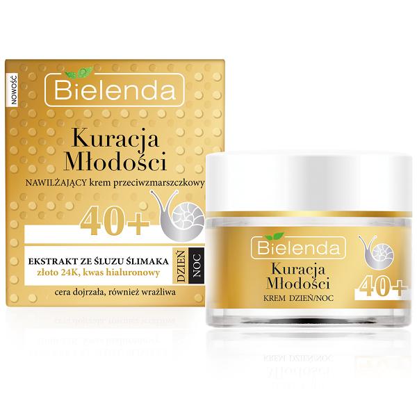 Crema Hidratanta Antirid cu Extract de Melc 40+ zi/noapte - 50 ml [0]