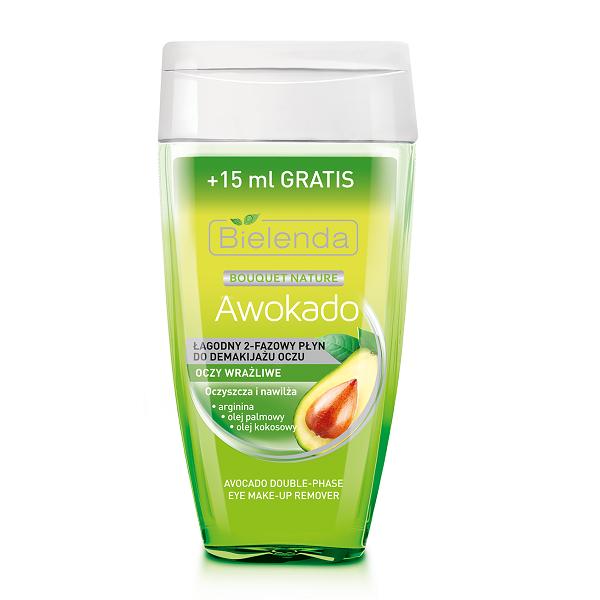 Demachiant Bifazic cu Avocado pentru ochi Sensibili - 125 ml+15 ml [0]
