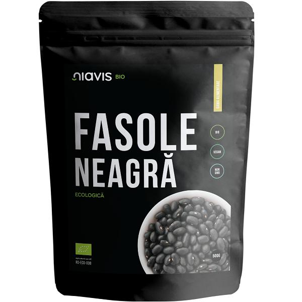 Fasole Neagra Ecologica/BIO - 500 g [0]