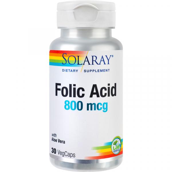 Folic Acid 800mcg 30cps [0]