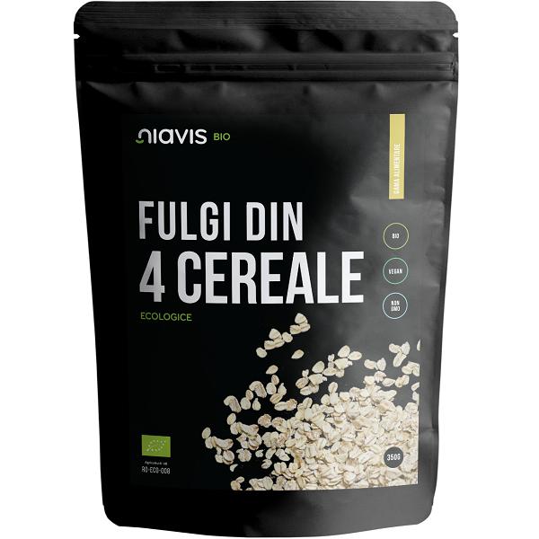 Fulgi din 4 Cereale Ecologice/BIO - 350 g [0]