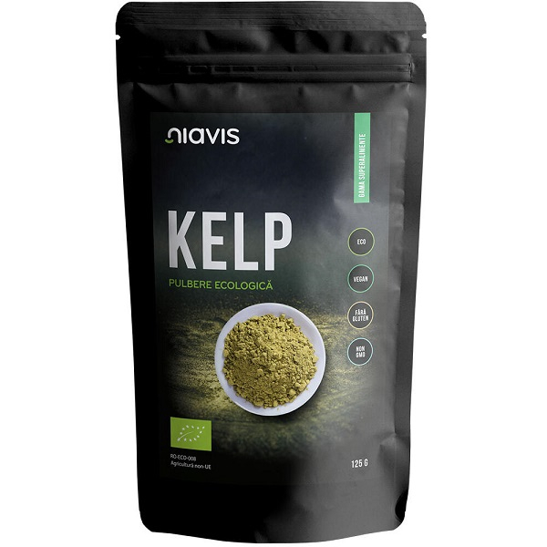 Kelp Pulbere Ecologica/BIO - 125 g [0]