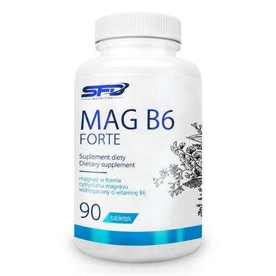 Magneziu  cu Vitamina B6, SFD Mag B6 Forte - 90 comprimate (45 doze) [0]