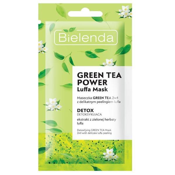 Masca de fata Detoxifianta 2 in 1 cu Ceai Verde - 8 g [0]