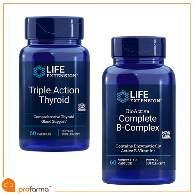 Pachet pentru Glanda Tiroida si functionarea Metabolismului, Life Extension - Set [0]