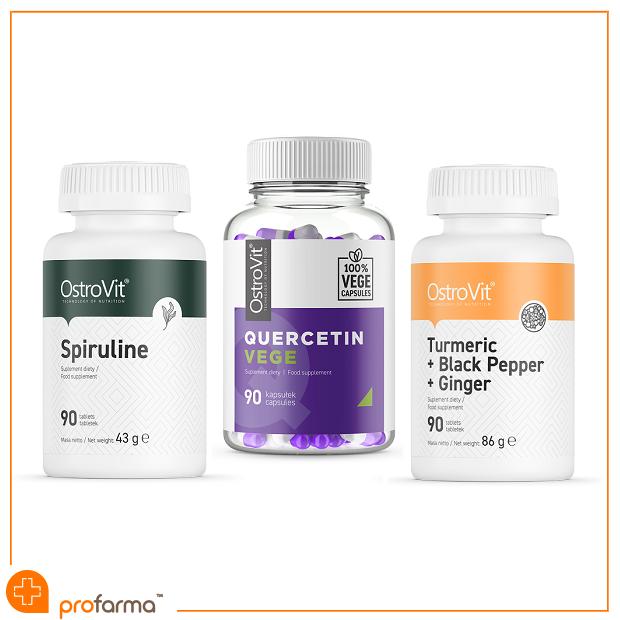 Pachet pentru Sistem Imunitar, Combaterea Stresului si Accelerarea Metabolismului, OstroVit - Set [0]