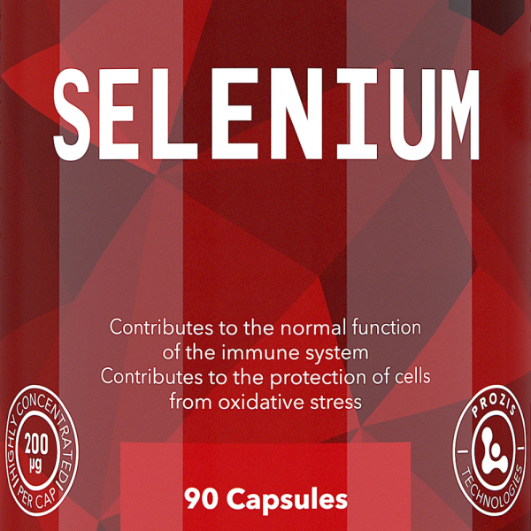 Seleniu, Prozis Selenium - Hair, Skin and Nails 90 caps [1]