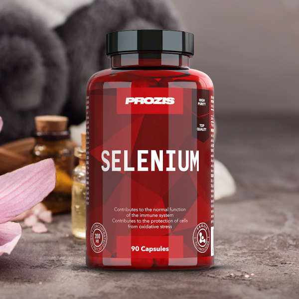 Seleniu, Prozis Selenium - Hair, Skin and Nails 90 caps [3]