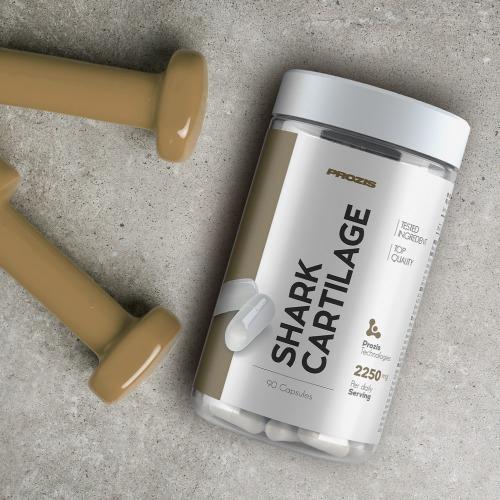 Cartilaj de rechin, Shark Cartilage Prozis 2250 mg 90 caps [3]