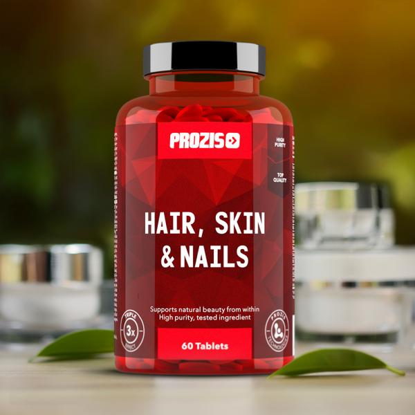 Complex pentru Piele, Unghii si Par, Hair, Skin & Nails - 60 cpr [4]