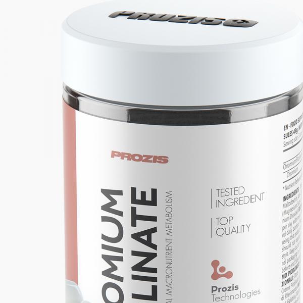 Picolinat de Crom, Chromium Picolinate 600 mcg - 120 cps [1]