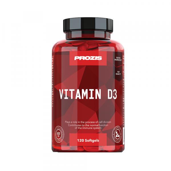 Vitamina D3, Vitamin D3 800IU Prozis120 softgels [0]