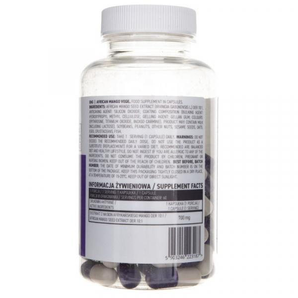 Supliment alimentar OstroVit African Mango VEGE - 60 capsule [1]
