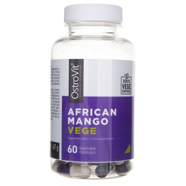 Supliment alimentar OstroVit African Mango VEGE - 60 capsule [0]
