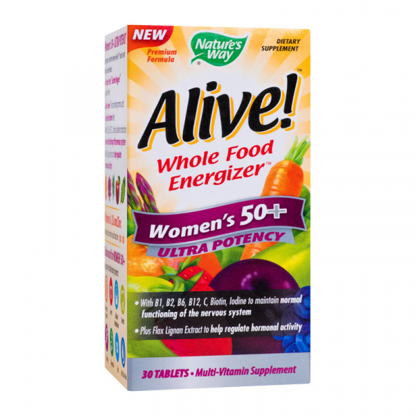 Alive! Women's 50+ Ultra 30 tablete filmate [0]