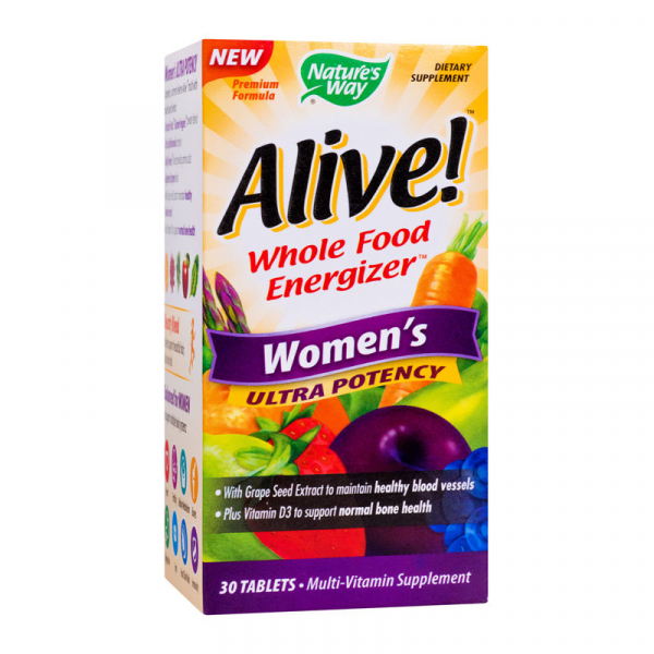 Alive! Women's Ultra 30 tablete filmate [0]