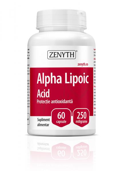 Supliment alimentar, Zenyth Alpha Lipoic Acid (250 mg) - 60 capsule [0]