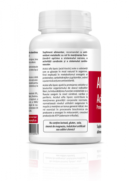 Supliment alimentar, Zenyth Alpha Lipoic Acid (250 mg) - 60 capsule [3]