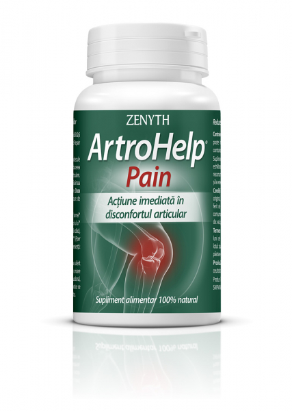 Supliment alimentar, Zenyth ArtroHelp Pain (500 mg) - 30 capsule [0]