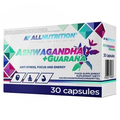 Supliment alimentar, Adapatogen, Ashwagandha(300 mg) + Guarana(200 mg) - 30 capsule (30 doze) [0]