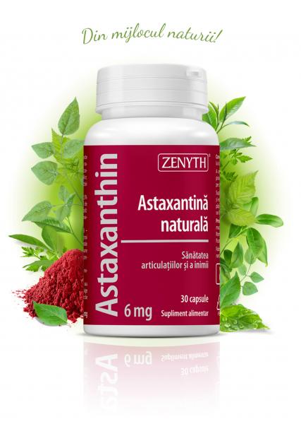 Supliment alimentar, Zenyth Astaxanthin (6 mg) - 30 capsule [0]