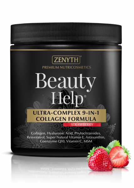 Supliment alimentar, Beauty Help Strawberry - 300 g [0]