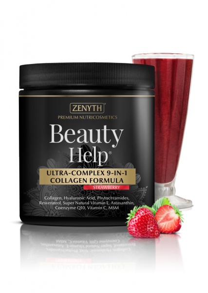 Supliment alimentar, Beauty Help Strawberry - 300 g [1]