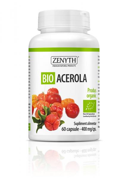 Supliment alimentar, Bio Acerola (400 mg) - 60 capsule [0]