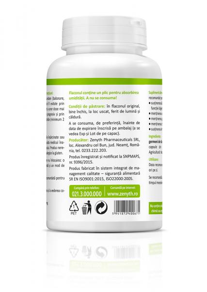 Bio Grau Germeni (600 mg) - 60 capsule [2]