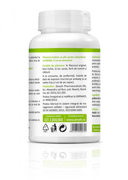 Supliment alimentar, Bio Maca (600 mg) - 60 capsule [2]