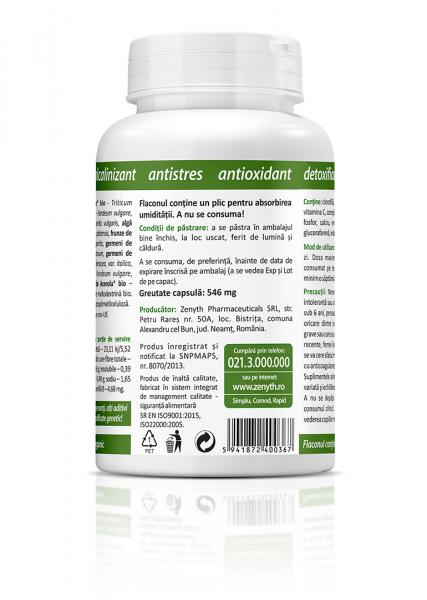 Supliment alimentar, BioGreens - 120 capsule [2]