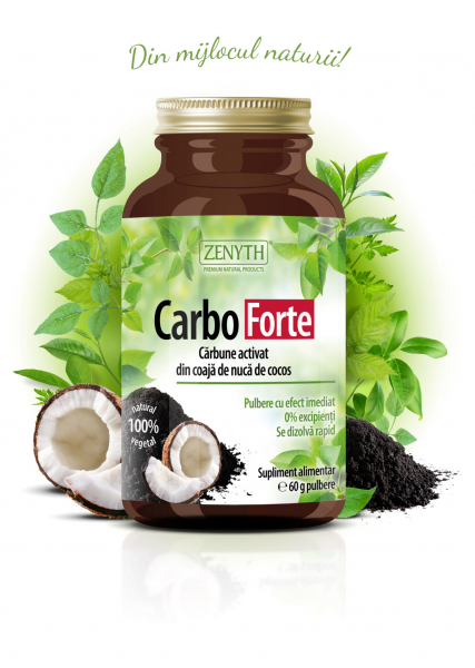 Supliment alimentar, Carbo Forte - 60 g (pulbere) [0]