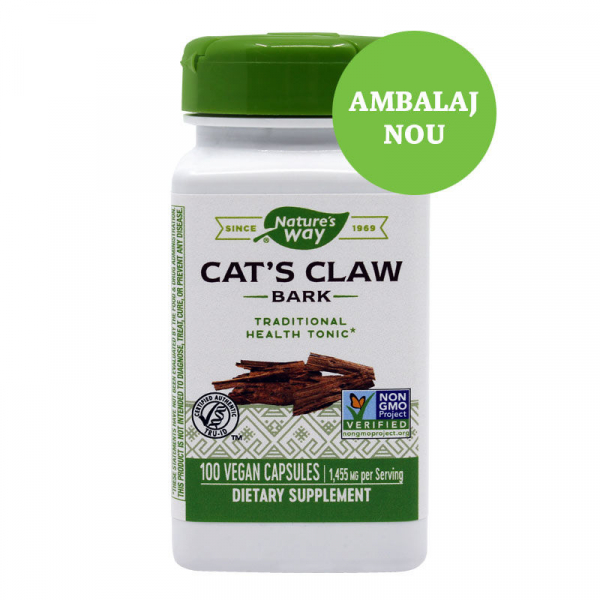 Supliment alimentar, Cat's Claw (485 mg) - 100 capsule [0]
