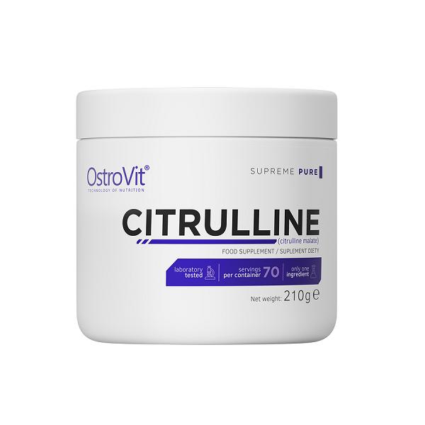 Malat de Citrulina, Supreme Pure Citrulline, OstroVit - 210 gr (70 doze) [0]