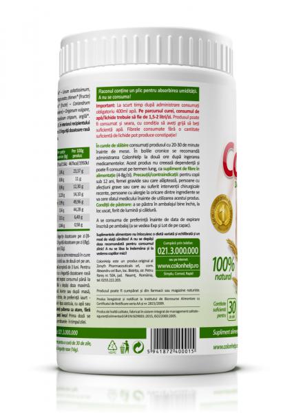 Supliment alimentar, Zenyth ColonHelp - 480 g [3]
