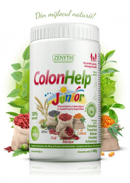 Supliment alimentar, ColonHelp Junior - 480 g [0]